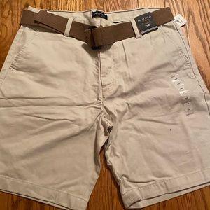Men's khaki nautica shorts